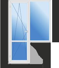 Балконный блок (малый) класса стандарт